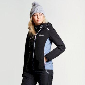 Veste imperméable chaude Inflect Jacket Black/Mercur