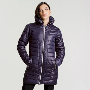 Veste imperméable chaude Longline Jacket Inkwell
