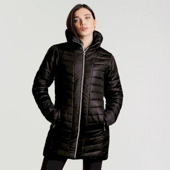 Veste imperméable chaude Longline Jacket Noir
