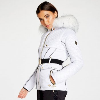 Dare 2B x Julien Macdonald - Women's Indulgence Ski Jacket White