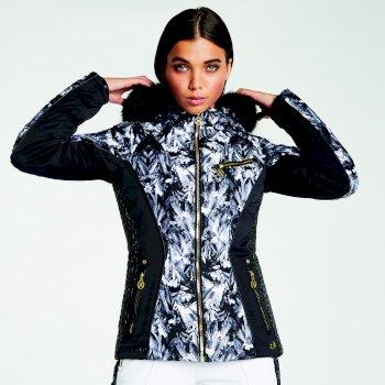 Dare 2B x Julien Macdonald - Women's Affluence Ski Jacket Mono Floral