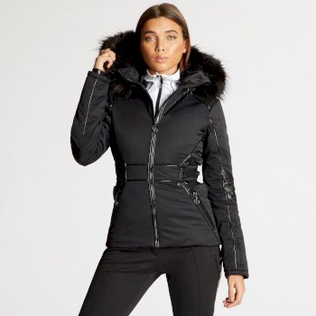 Dare 2B x Julien Macdonald - Women's Highness Ski Jacket Black