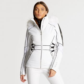 Dare 2B x Julien Macdonald - Women's Highness Ski Jacket White