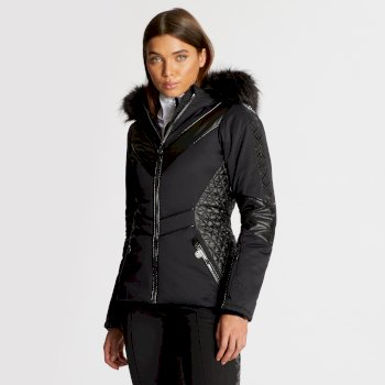 Dare 2B x Julien Macdonald - Women's Emperor Ski Jacket Black