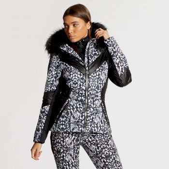 Dare 2B x Julien Macdonald - Women's Emperor Ski Jacket Animal Print