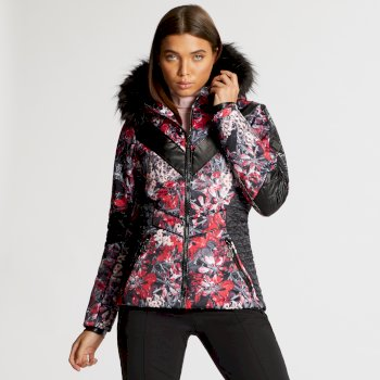 Dare 2B x Julien Macdonald - Women's Emperor Ski Jacket Red Jewel