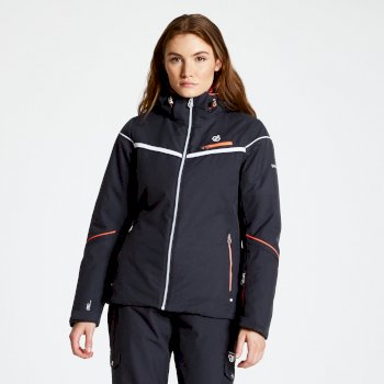 Women's Icecap Ski Jacket Ebony