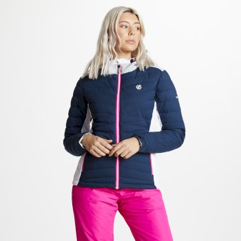 Women's Simpatico Quilted Ski Jacket Blue Wing
