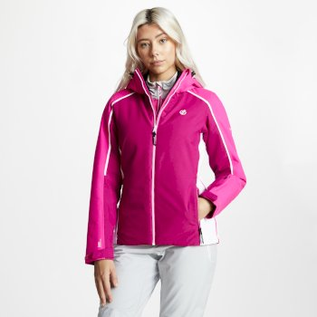 Women's Comity Ski Jacket Fuchsia Cyber Pink