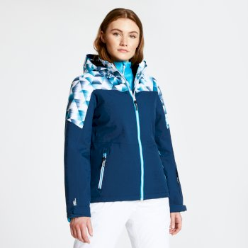 Veste de ski technique et performante Femme PURVIEW Bleu