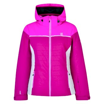 Women's Sightly Ski Jacket Fuchsia Cyber Pink