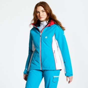 Women's Thrive Ski Jacket Fresh Water Blue