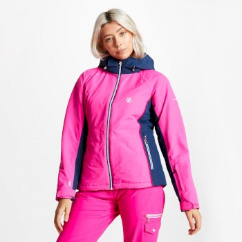 Women's Thrive Ski Jacket Cyber Pink