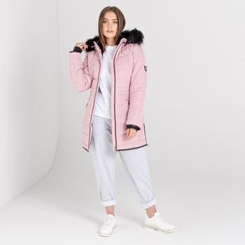 Swarovski Embellished - Women's Striking II Waterproof Ski Jacket Powder Pink
