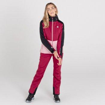 Women's Enclave II Waterproof Ski Jacket Beetroot Powder Pink