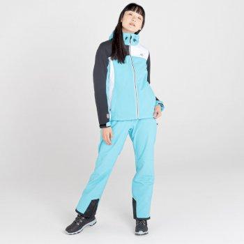 Veste de ski imperméable Femme ICE GLEAM II Bleu