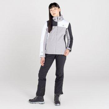 Veste de ski imperméable Femme ICE GLEAM II Gris