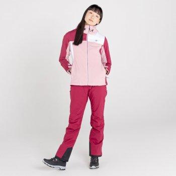 Veste de ski imperméable Femme ICE GLEAM II Rose