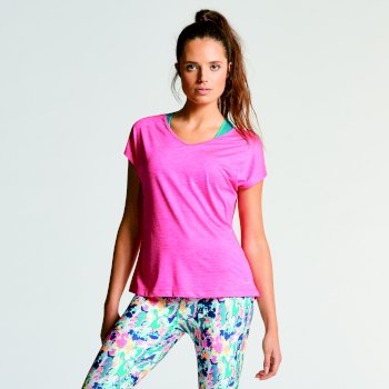 T-Shirt Serrate Tee Cyber Pink