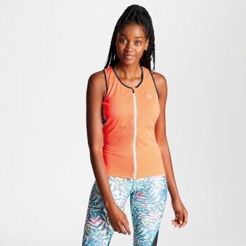 Women's Illustrate Full Zip Vest Fiery Coral