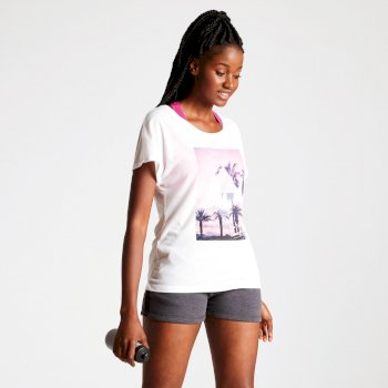 Women's Summer Days Graphic T-Shirt White
