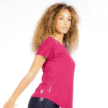 Women's Vigilant Active T-Shirt Active Pink