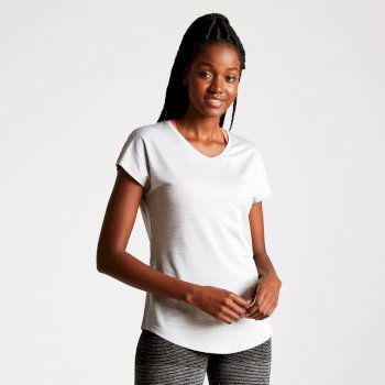 Women's Vigilant Active T-Shirt Argent Grey