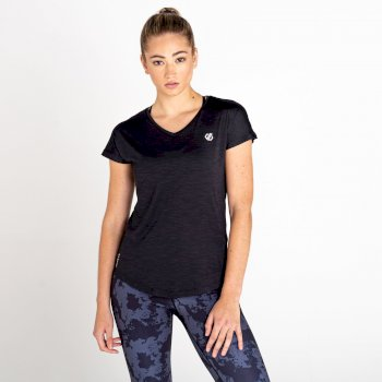 Women's Vigilant Active T-Shirt Black