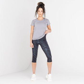 Women's Vigilant Active T-Shirt Ash Grey