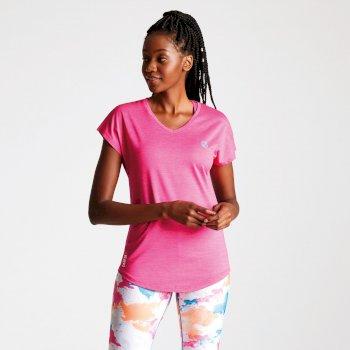 c7f62c6fe Women's Vigilant Active T-Shirt Cyber Pink