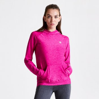 Women's Sprint City Lightweight Hoodie Active Pink