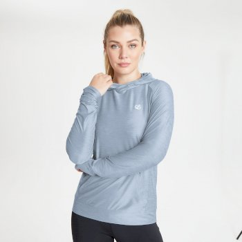 The Kate Ferdinand Edit - Sprint City Lightweight Hoodie Celestial Grey Marl