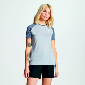 Women's Instate Wool T-Shirt Gravity Meteor