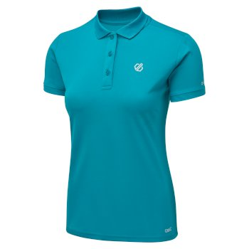 Women's Set Forth Polo Shirt Freshwater Blue