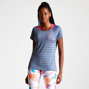Women's Efficiency Ventilated T-Shirt Meteor Grey