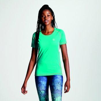 Women's Oscillation T-Shirt Caribbean Green