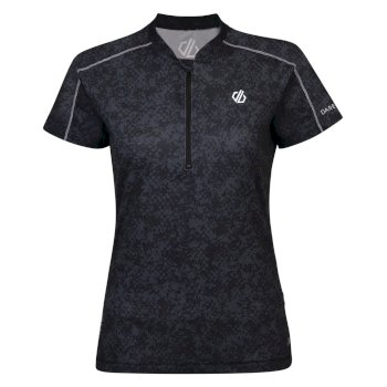 Women's Theory Cycling Jersey Black