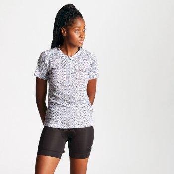 Women's Theory Cycling Jersey Black White