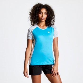 T-shirt en laine Homme FIXATE Bleu