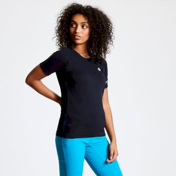 Women's Seamless T-Shirt Black