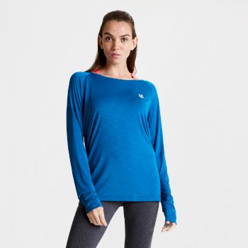 Women's Praxis Long Sleeve Top Petrol Blue