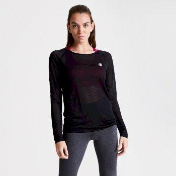 T-shirt manches longues Femme PRAXIS Noir