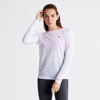 Women's Praxis Long Sleeve Top White