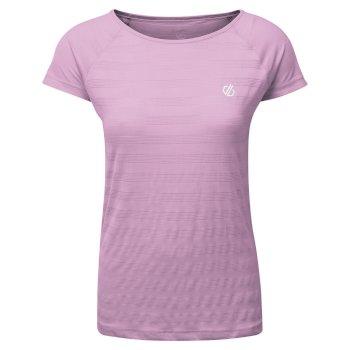 T-Shirt Femme DEFY Rose