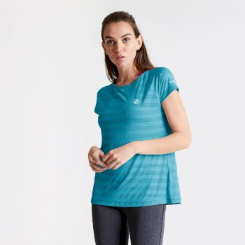 Women's Defy Quick Drying T-Shirt Freshwater Blue