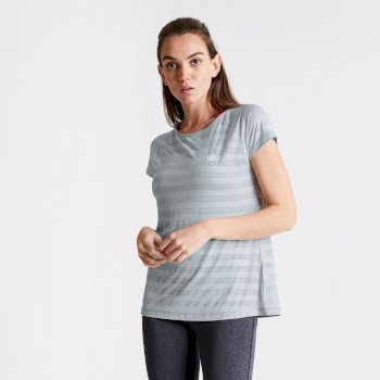 Women's Defy Quick Drying T-Shirt Argent Grey