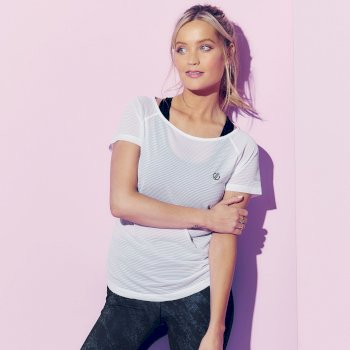 The Laura Whitmore Edit - Defy Quick Drying T-Shirt White