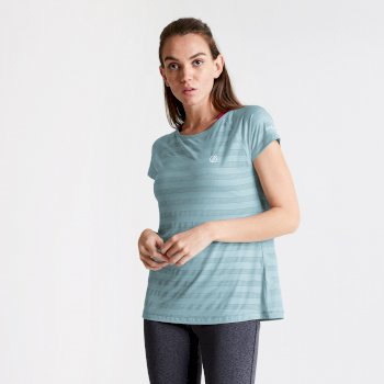 Women's Defy Quick Drying T-Shirt Cameo Green