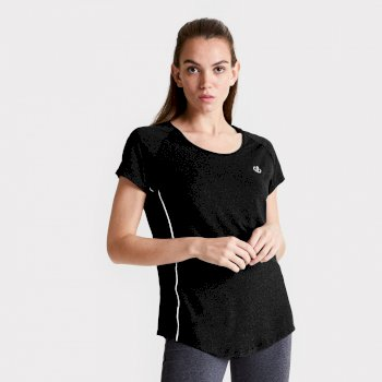 Women's Corral Quick Drying T-Shirt Black