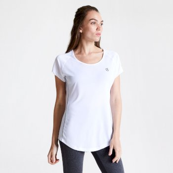 Women's Corral Quick Drying T-Shirt White
